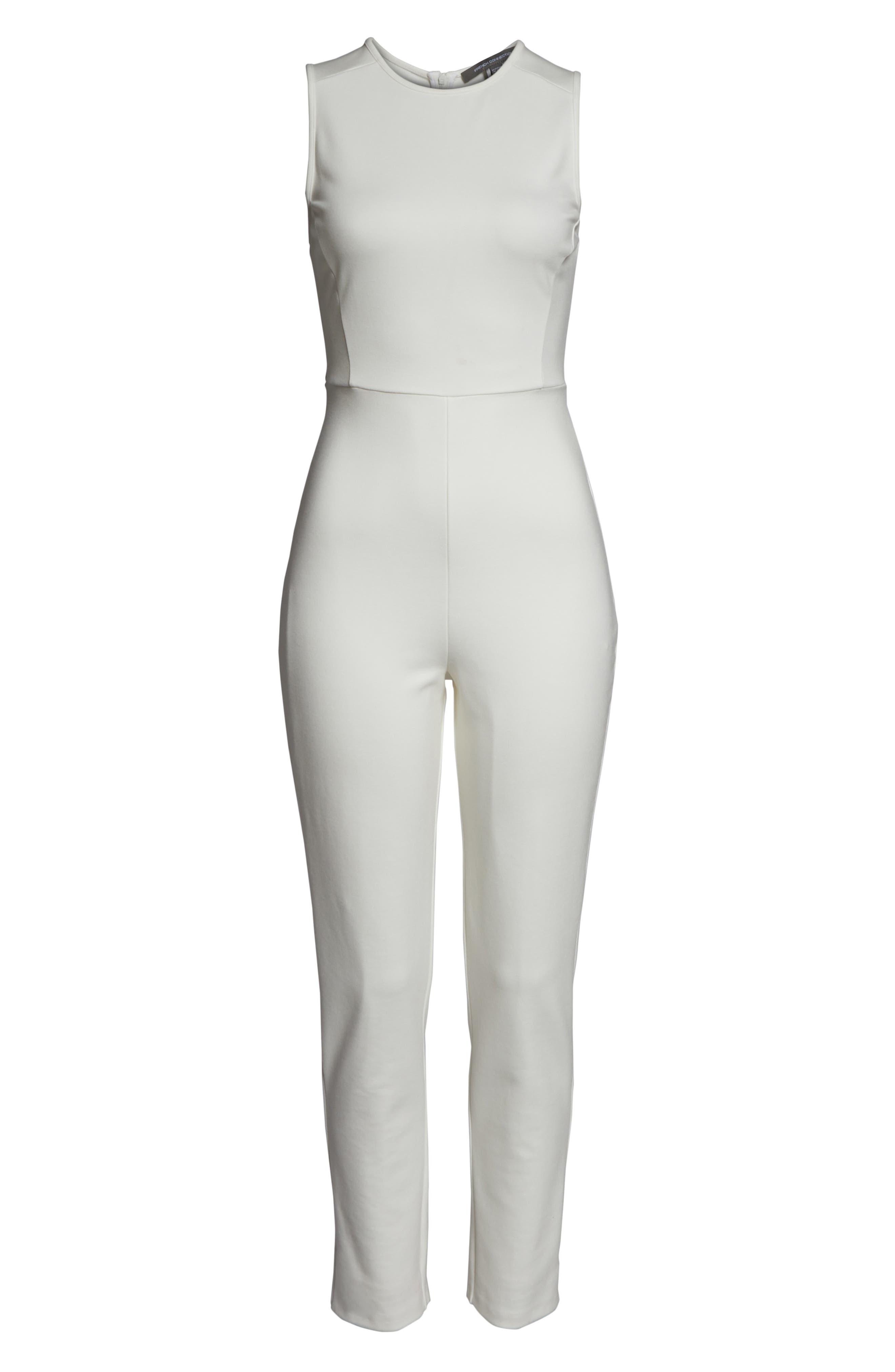 ,                             Sundae Lula Sleeveless Jumpsuit,                             Alternate thumbnail 7, color,                             SUMMER WHITE