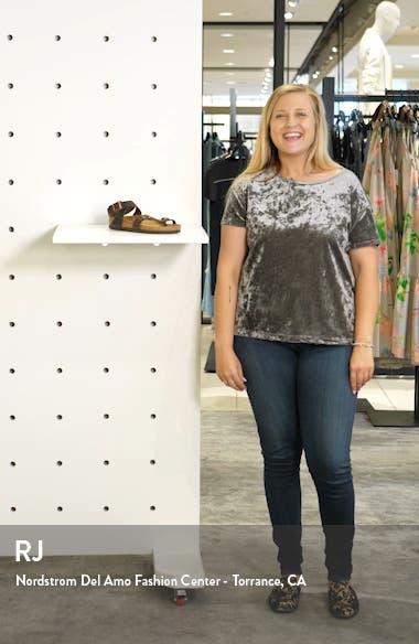 Yara Ankle Wrap Sandal, sales video thumbnail