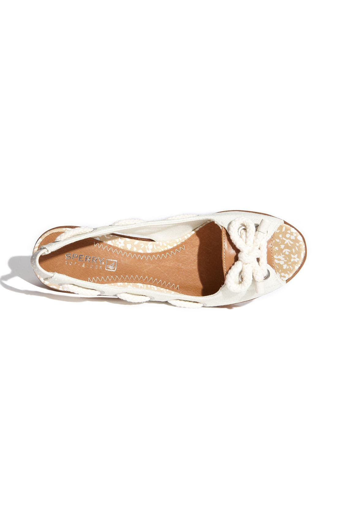 ,                             Top-Sider<sup>®</sup> 'Southport' Slingback Wedge,                             Alternate thumbnail 7, color,                             100