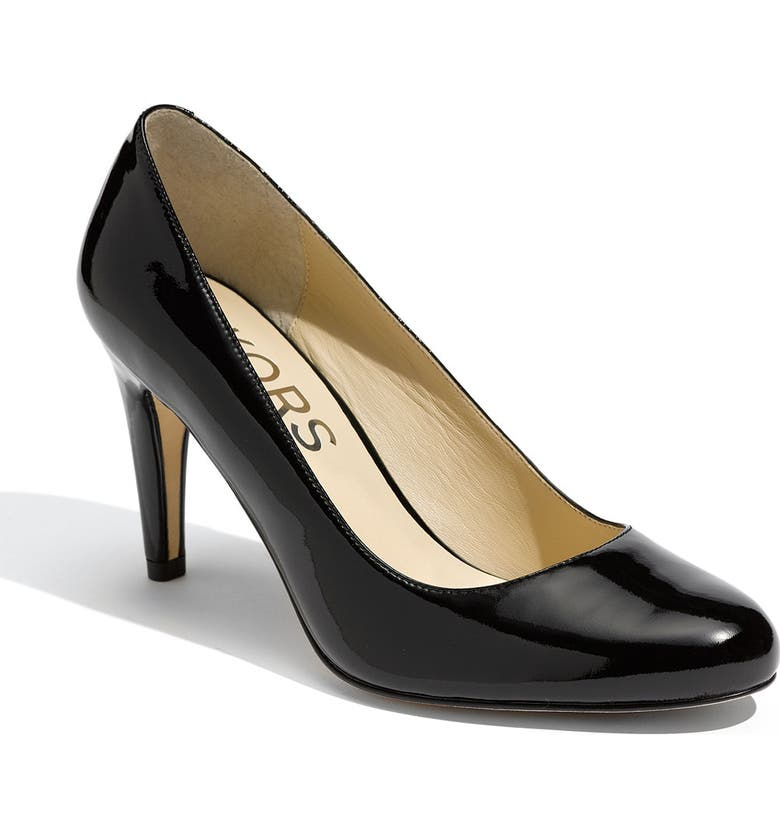 KORS MICHAEL KORS 'Ghita' Pump, Main, color, 001