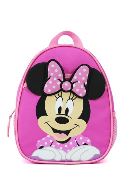 Image of DISNEY BABY Disney Minnie Mouse Harness Backpack with Polka Dots