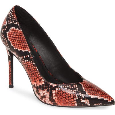 Jeffrey Campbell Lure Pump, Red