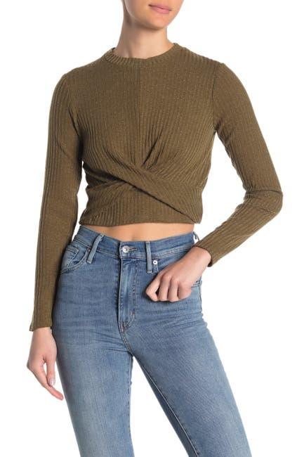Image of Cotton On Devon Twist Front Long Sleeve Sweater