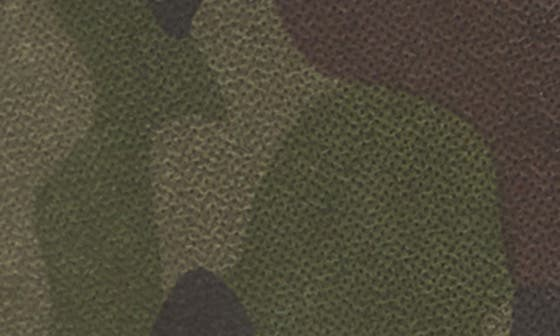 GREEN CAMOUFLAGE LEATHER