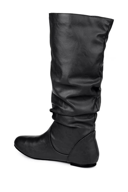 Image of JOURNEE Collection Jayne Ruched Tall Boot