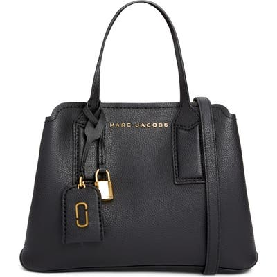 Marc Jacobs The Editor 29 Leather Crossbody Bag - Black