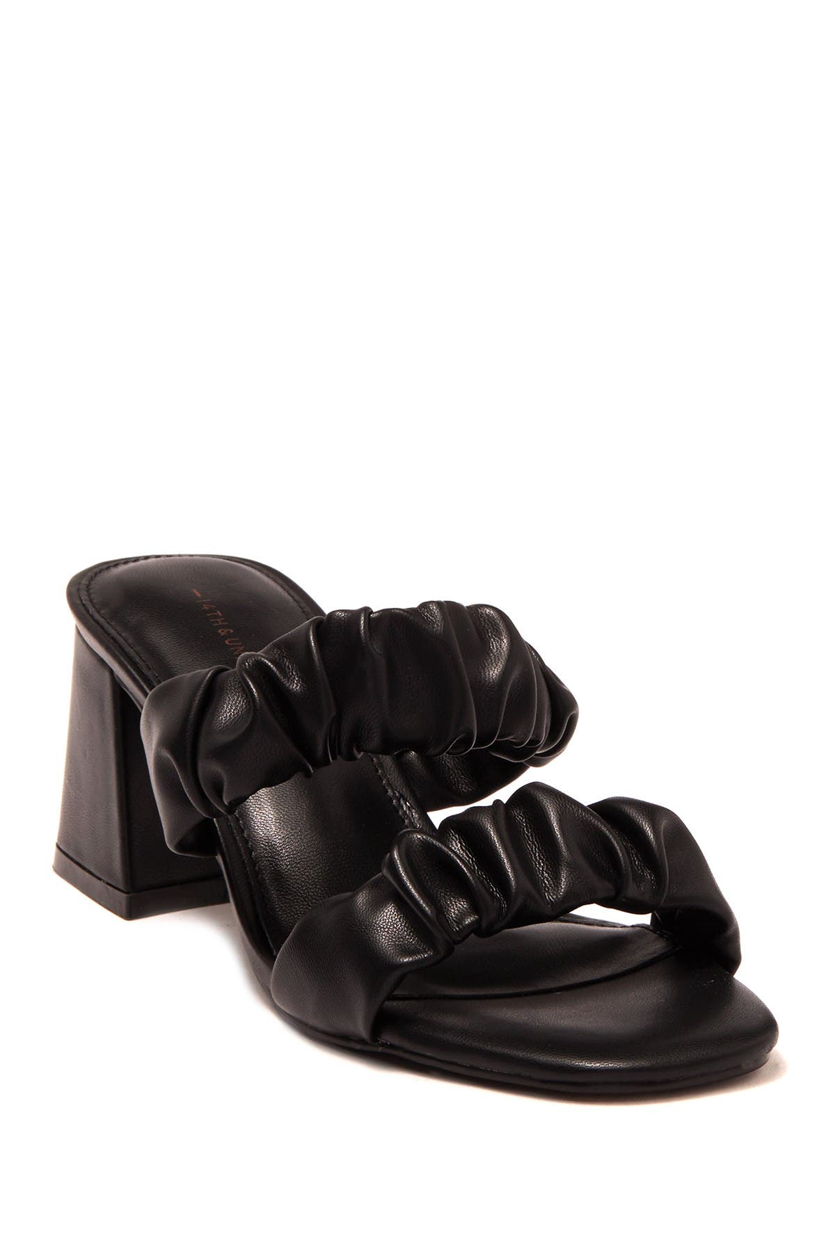 Image of 14th & Union Zandal Scrunch Block Heel Sandal