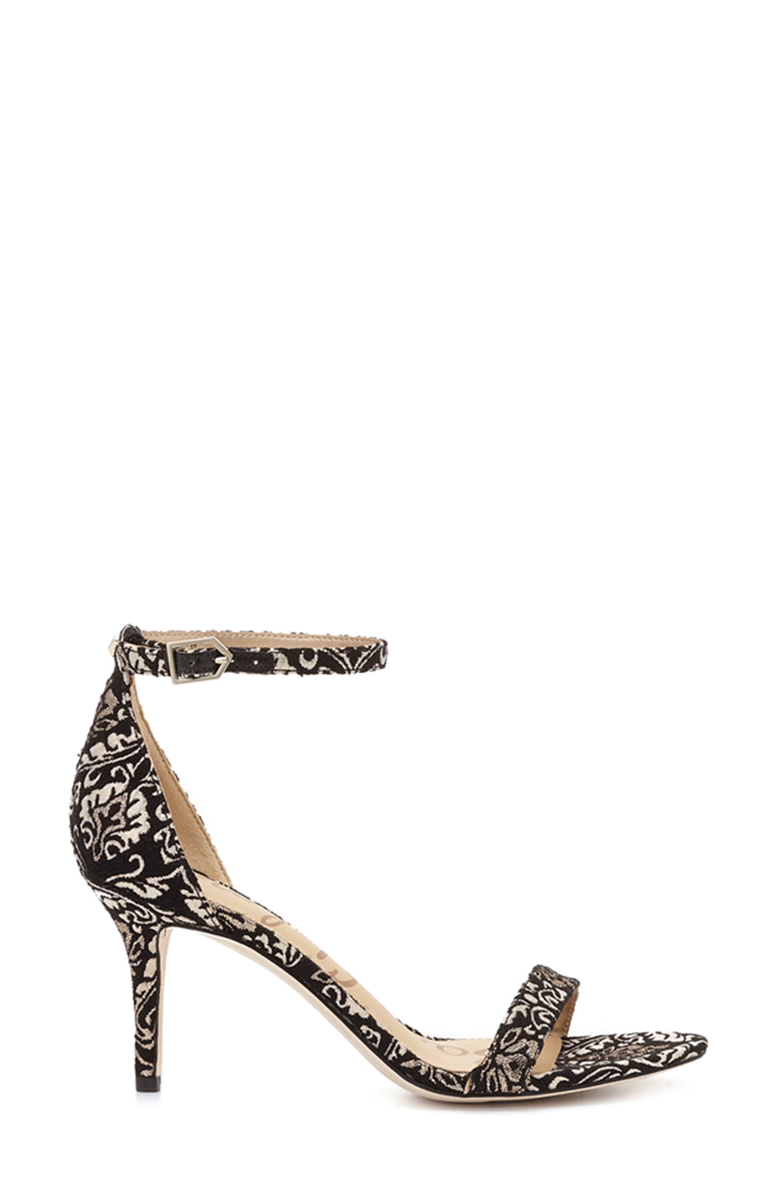 ,                             'Patti' Ankle Strap Sandal,                             Alternate thumbnail 21, color,                             008