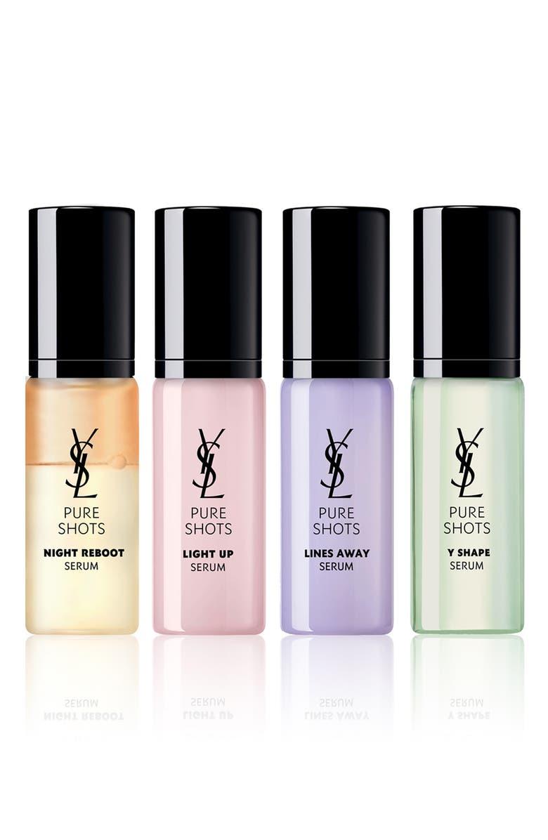 YVES SAINT LAURENT Travel Size Pure Shots Daily Dose Serum Essentials Set, Main, color, NO COLOR