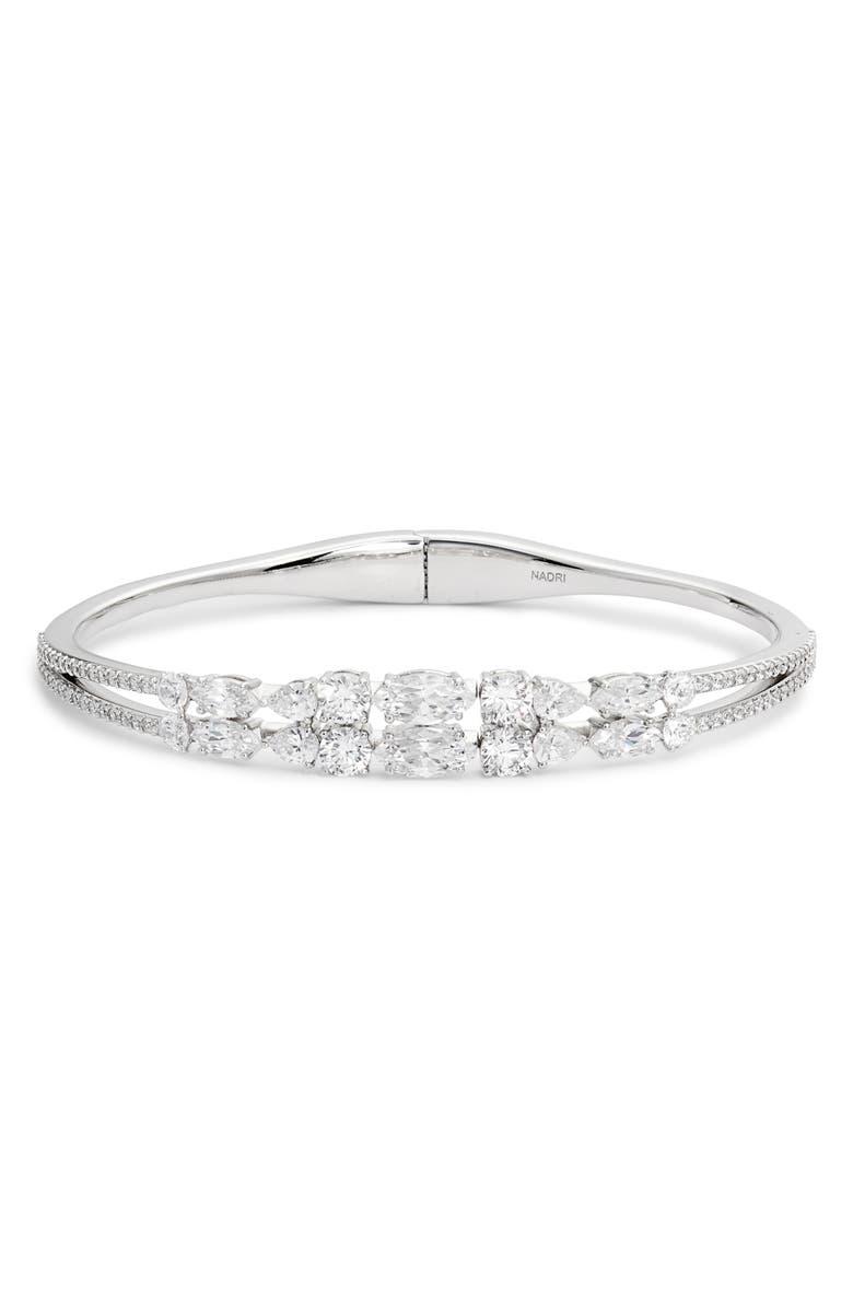 NADRI Lavande Hinged Cuff Bracelet, Main, color, 040