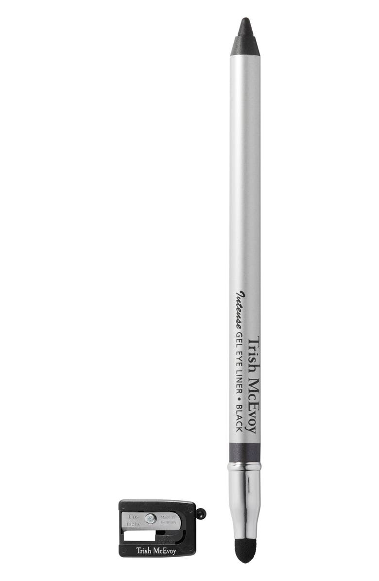 TRISH MCEVOY Intense Gel Eyeliner Pencil, Main, color, BLACK