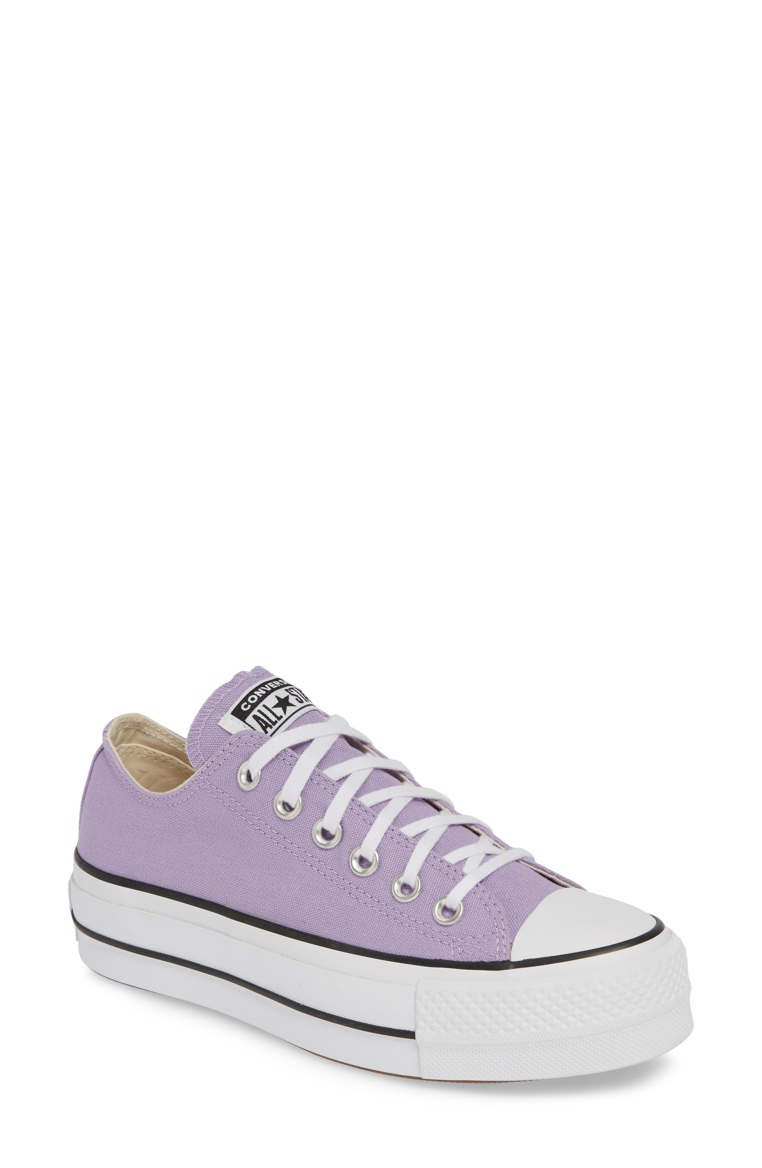 Converse Chuck Taylor All Star Platform Sneaker, Purple
