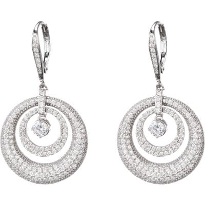 Nina Concentric Circle Drop Earrings