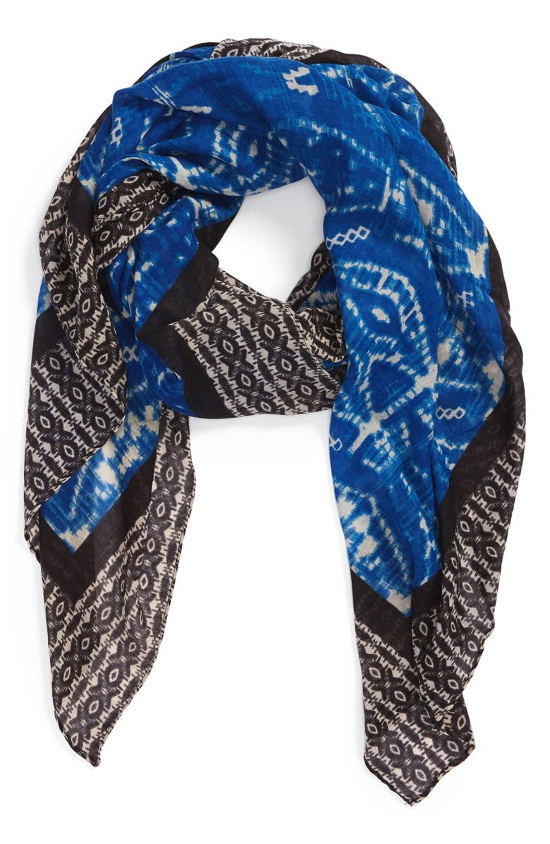 ROFFE ACCESSORIES 'World Traveler' Scarf, Main, color, 420