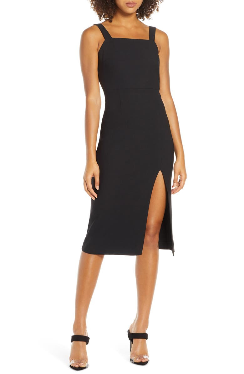 FINDERS KEEPERS Palermo Sheath Dress, Main, color, 001
