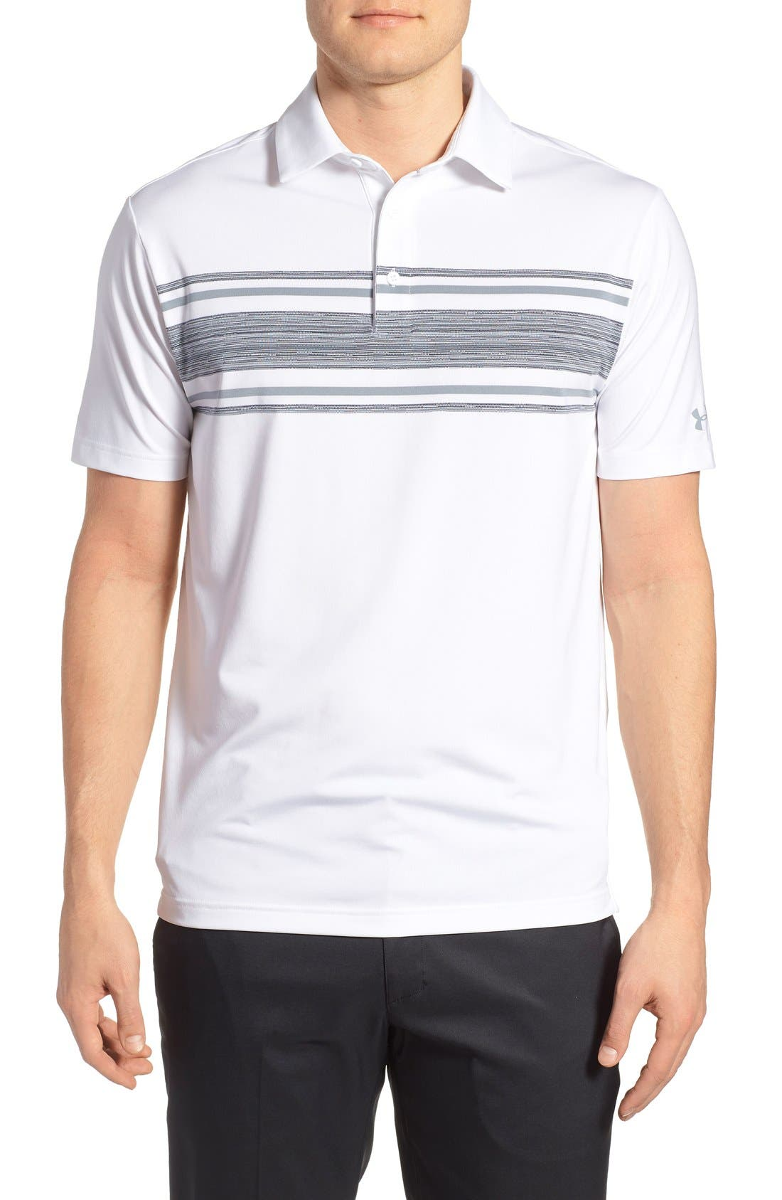 ,                             'Playoff' Loose Fit Short Sleeve Polo,                             Main thumbnail 145, color,                             105