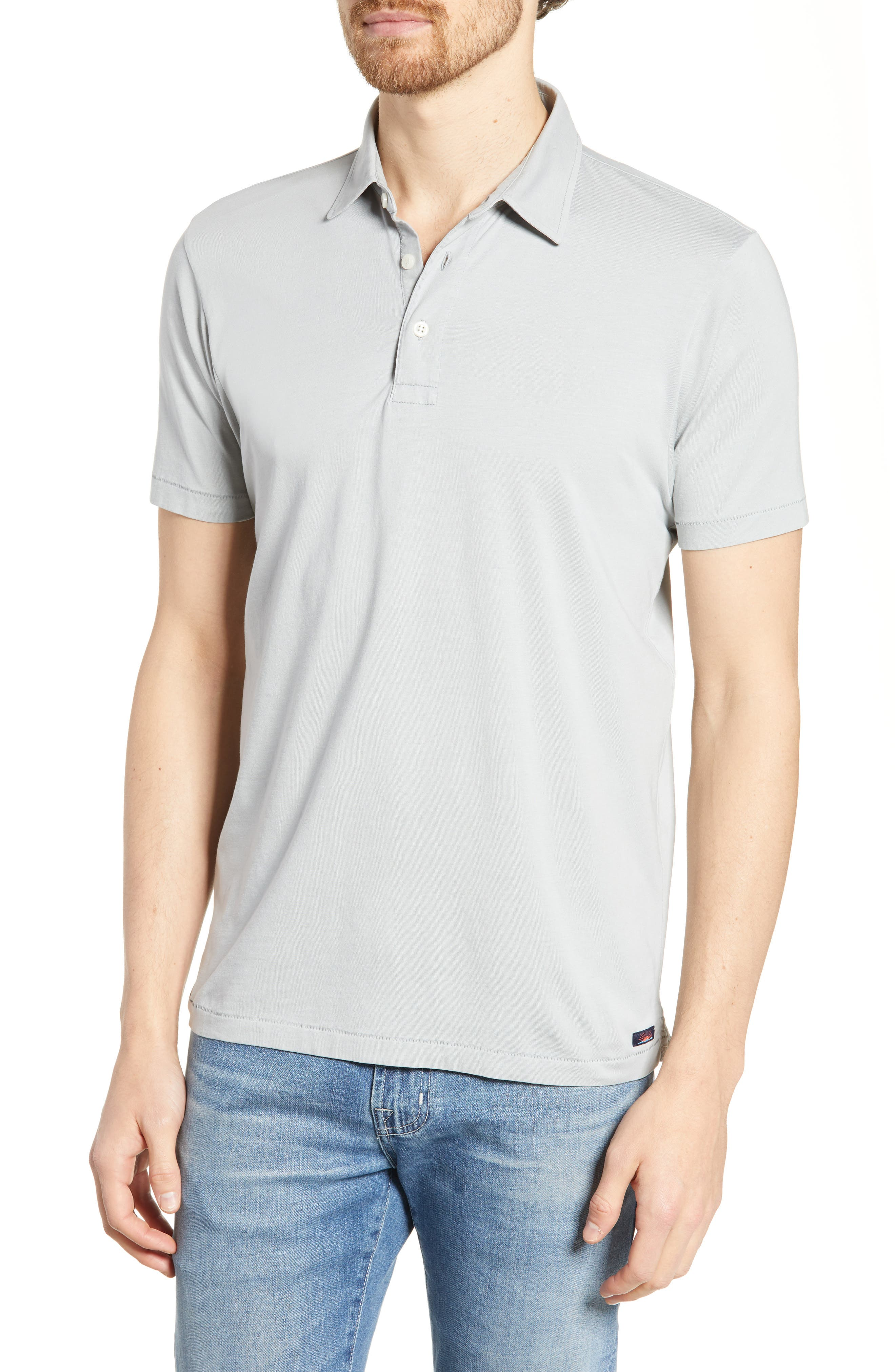 Faherty Regular Fit Solid Polo