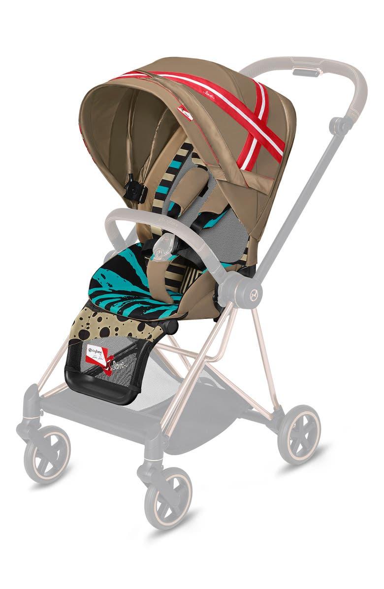 CYBEX x Karolina Kurkova Seat Design Pack for Mios Stroller, Main, color, MULTICOLOR