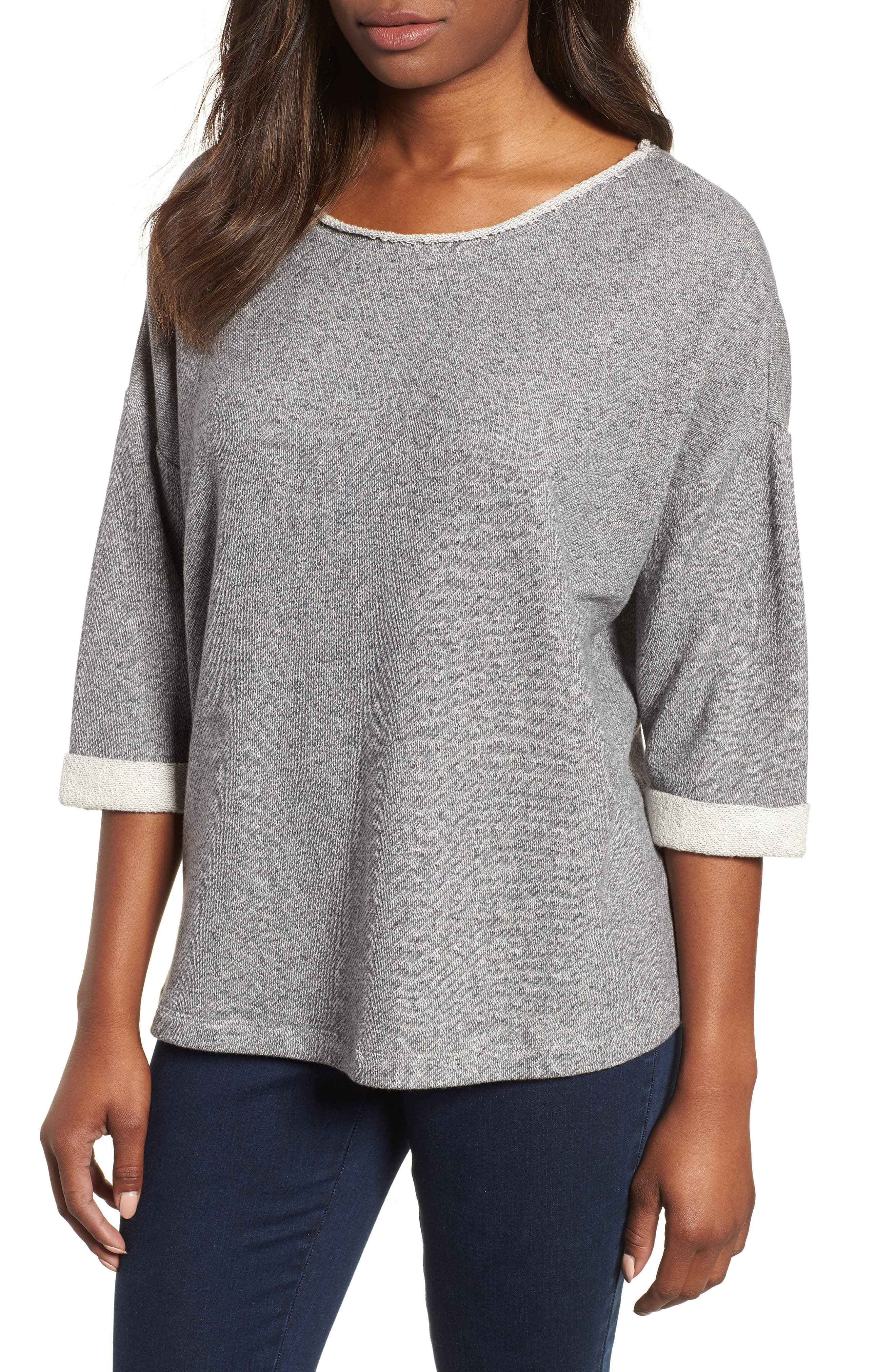Nic+zoe T-shirts Essential Sweatshirt
