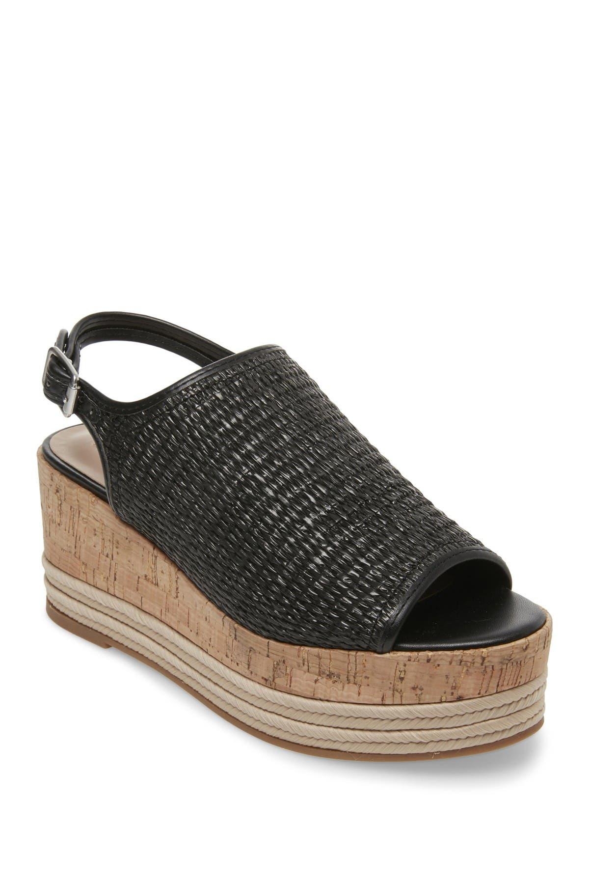 Carlton Platform Open Toe Wedge Sandal