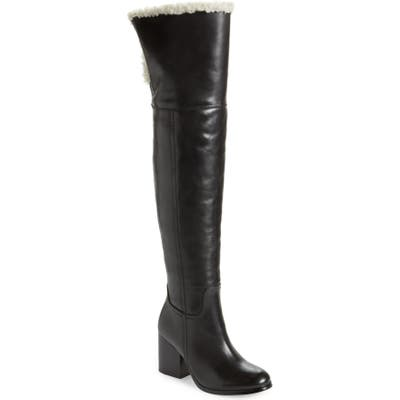Jeffrey Campbell Woodvurn Over The Knee Boot, Black