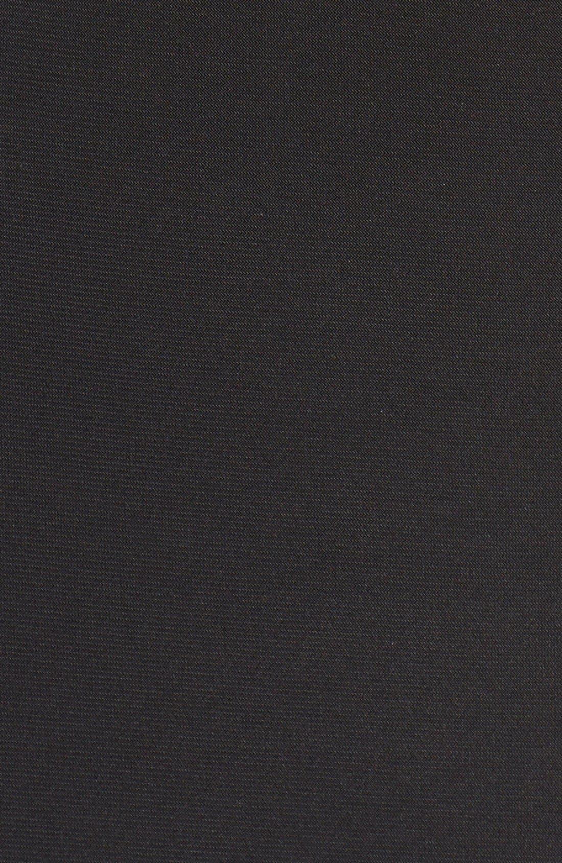 ,                             Embellished Crop Halter Tank & Jersey Skirt,                             Alternate thumbnail 3, color,                             001
