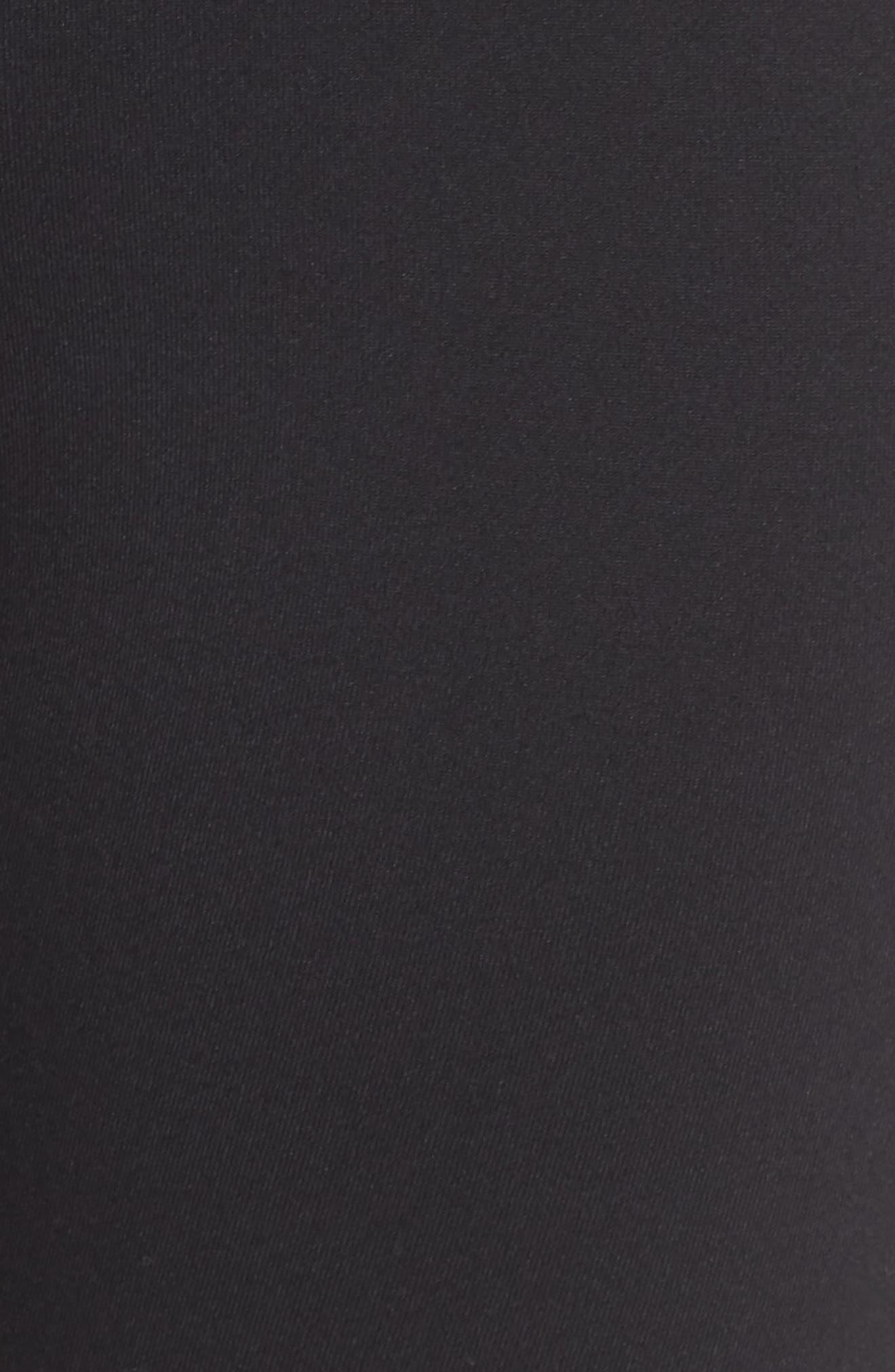 ,                             Hatha High Waist Bike Shorts,                             Alternate thumbnail 6, color,                             BLACK