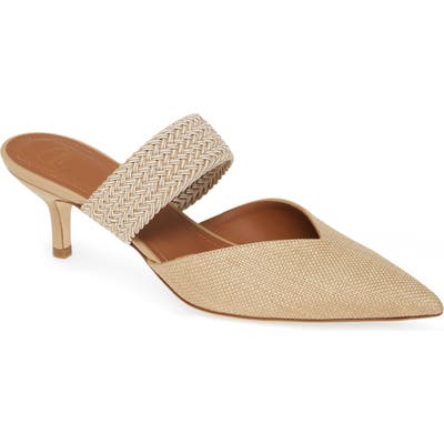 Malone Souliers Maisie Banded Mule, Beige