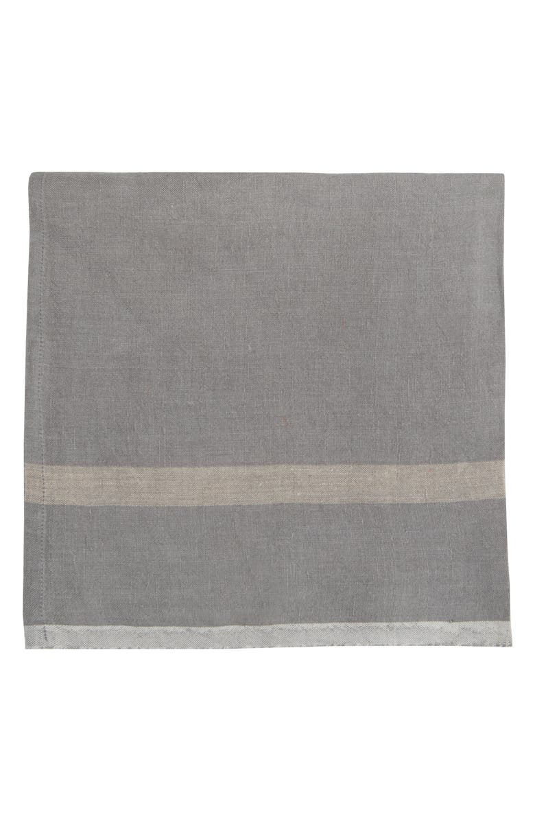 Caravan Set Of 4 Laundered Linen Napkins
