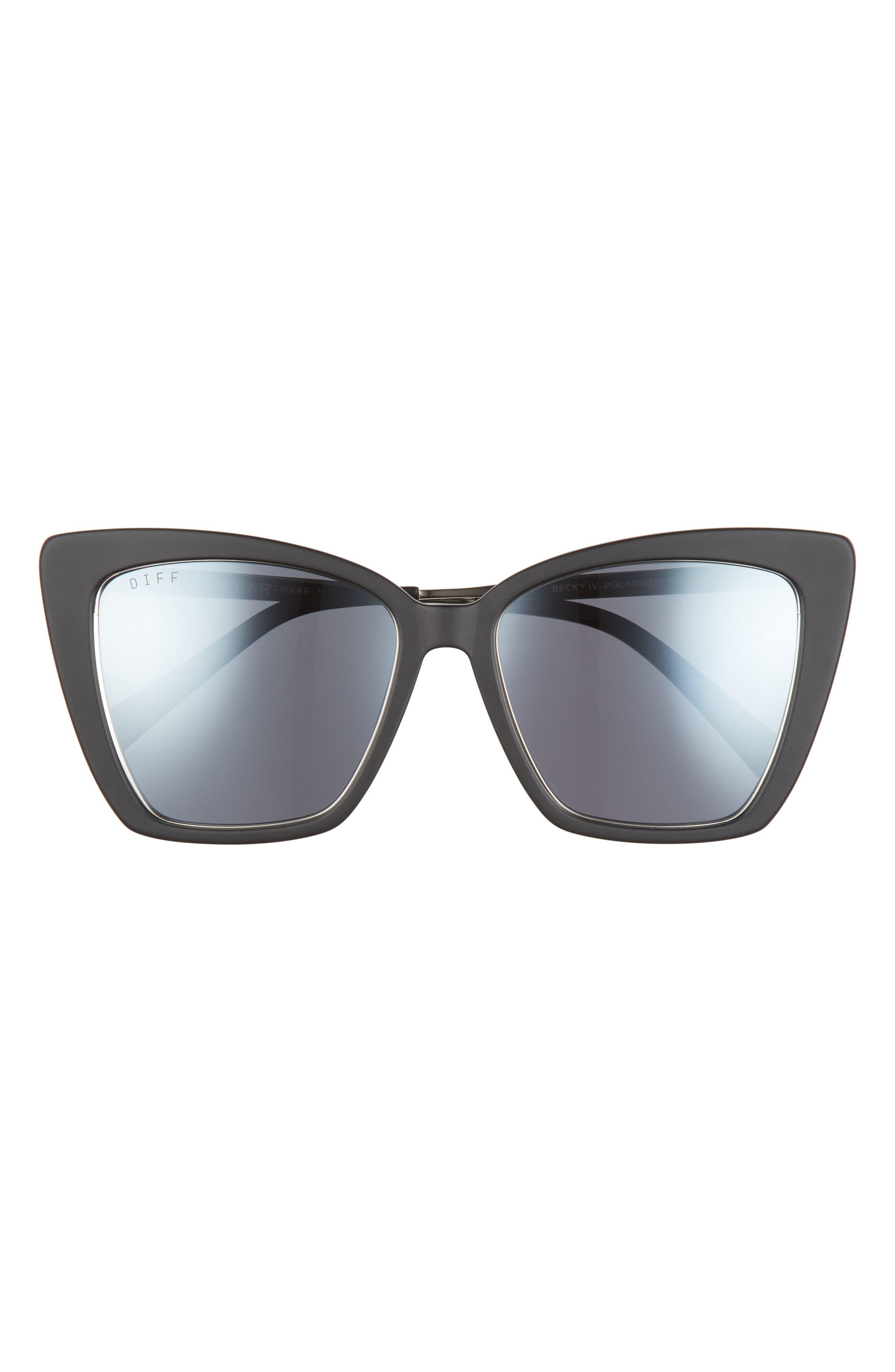 Becky Iv 56mm Polarized Cat Eye Sunglasses