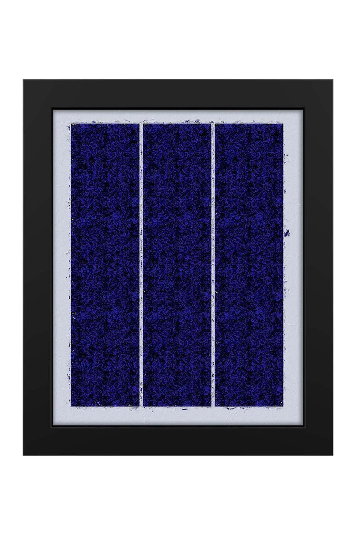 """Image of PTM Images Blue Panels 19""""x23"""" Framed MDF Canvas"""