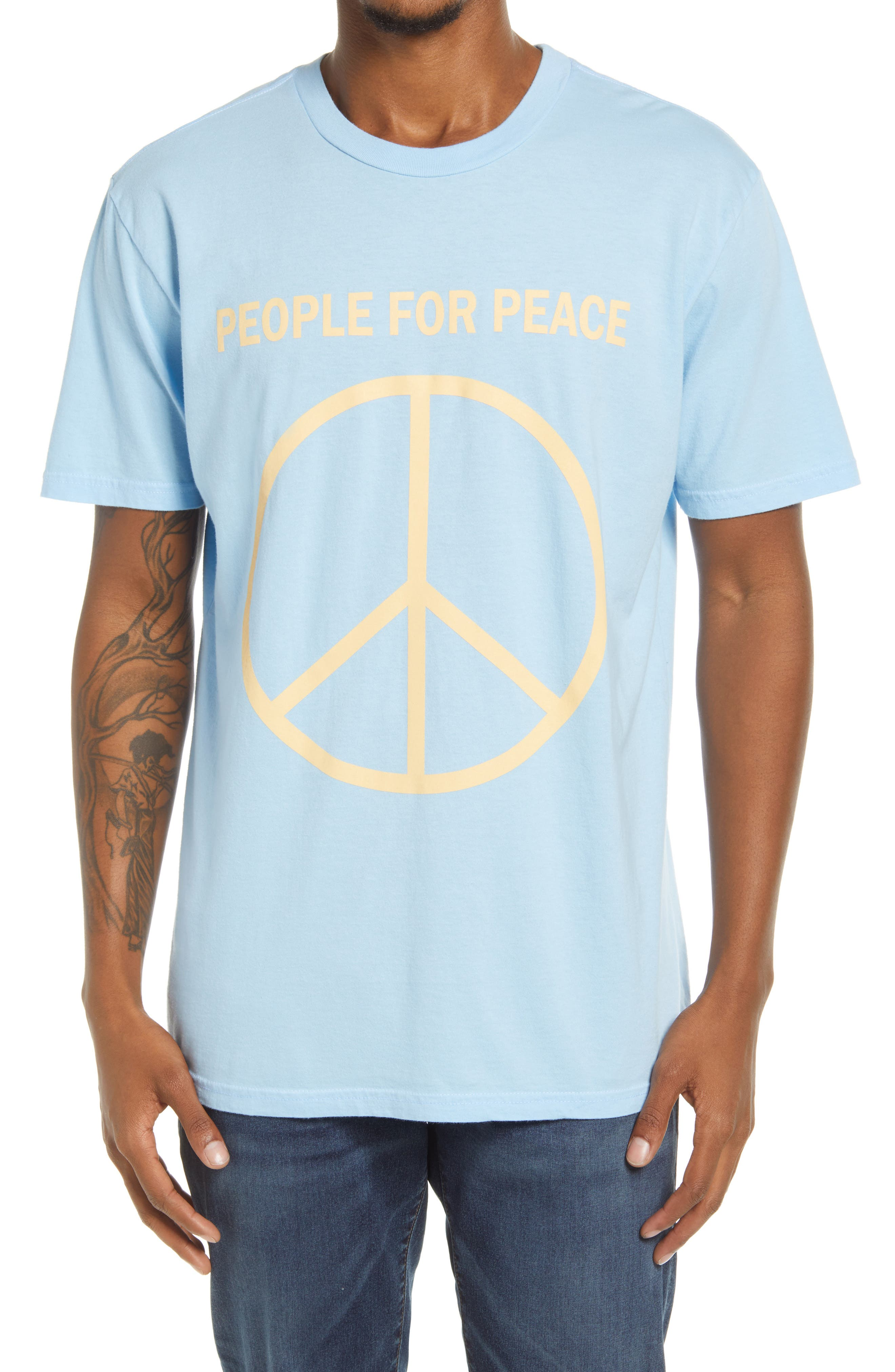 Men's People For Peace Graphic Tee