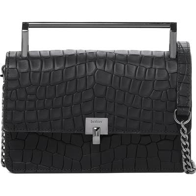 Botkier Lennox Leather Crossbody Bag - Black