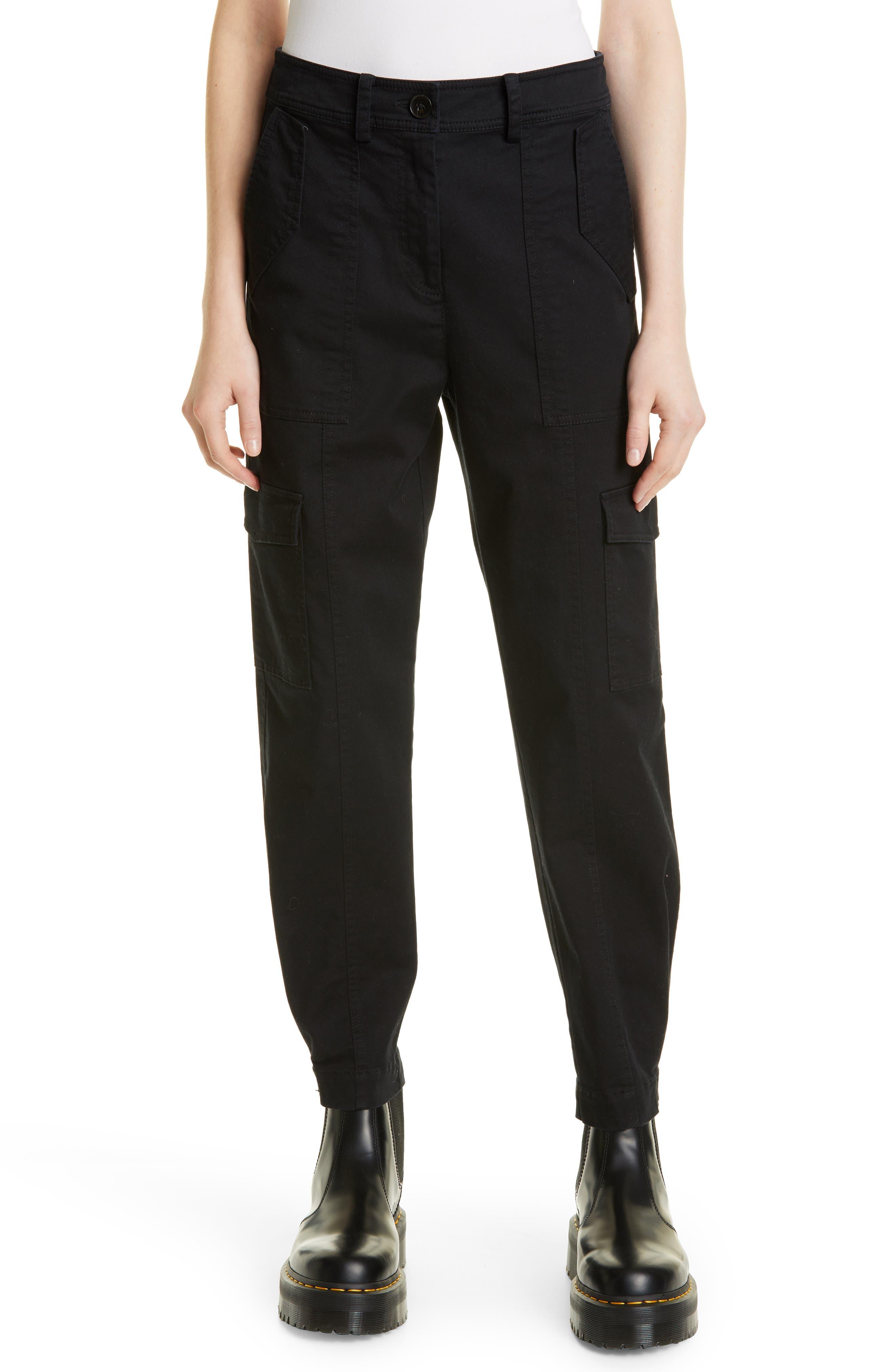 Elian Cotton Blend Utility Pants