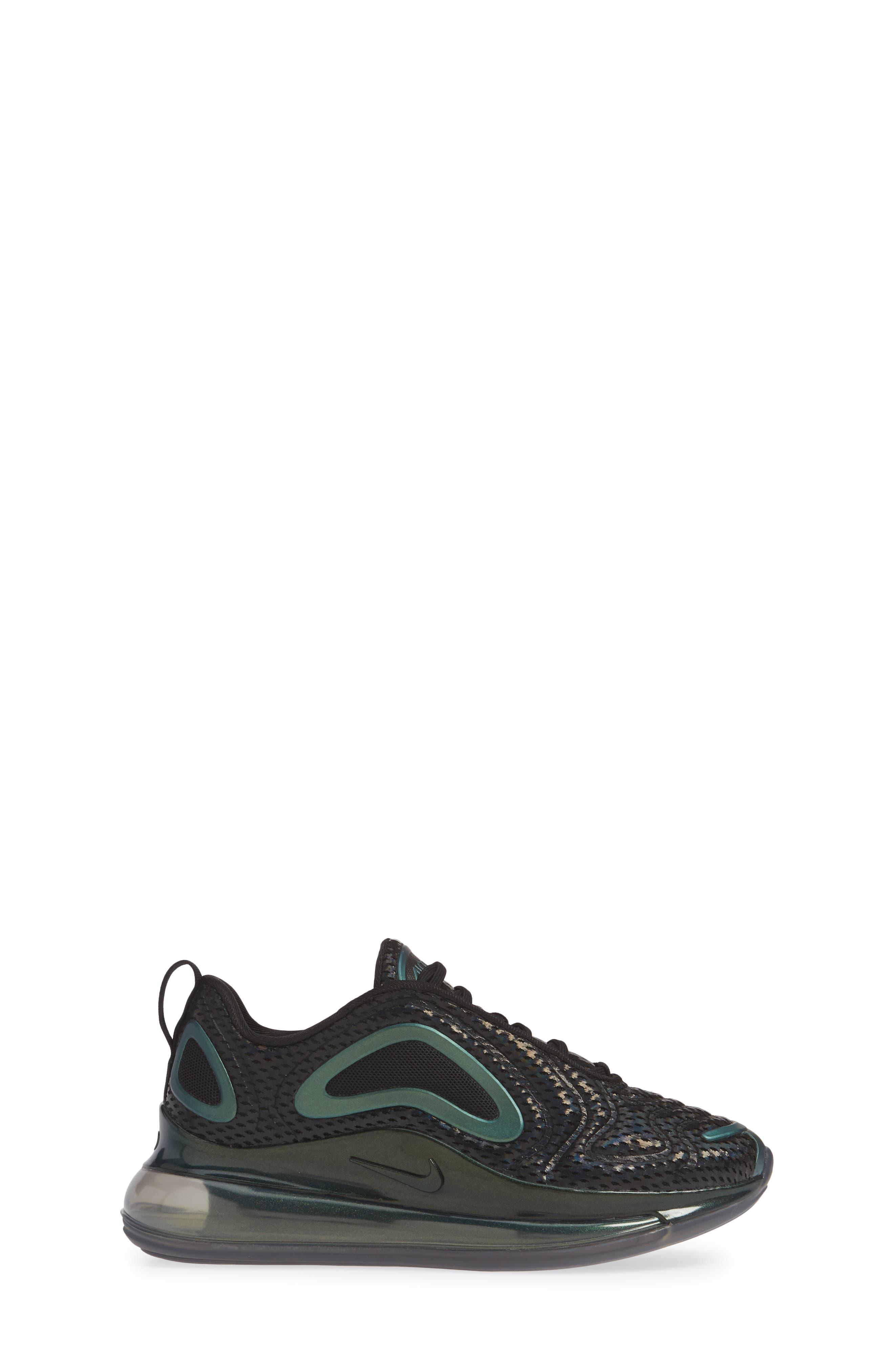 ,                             Air Max 720 Sneaker,                             Alternate thumbnail 3, color,                             BLACK/ FUCHSIA-ANTHRACITE