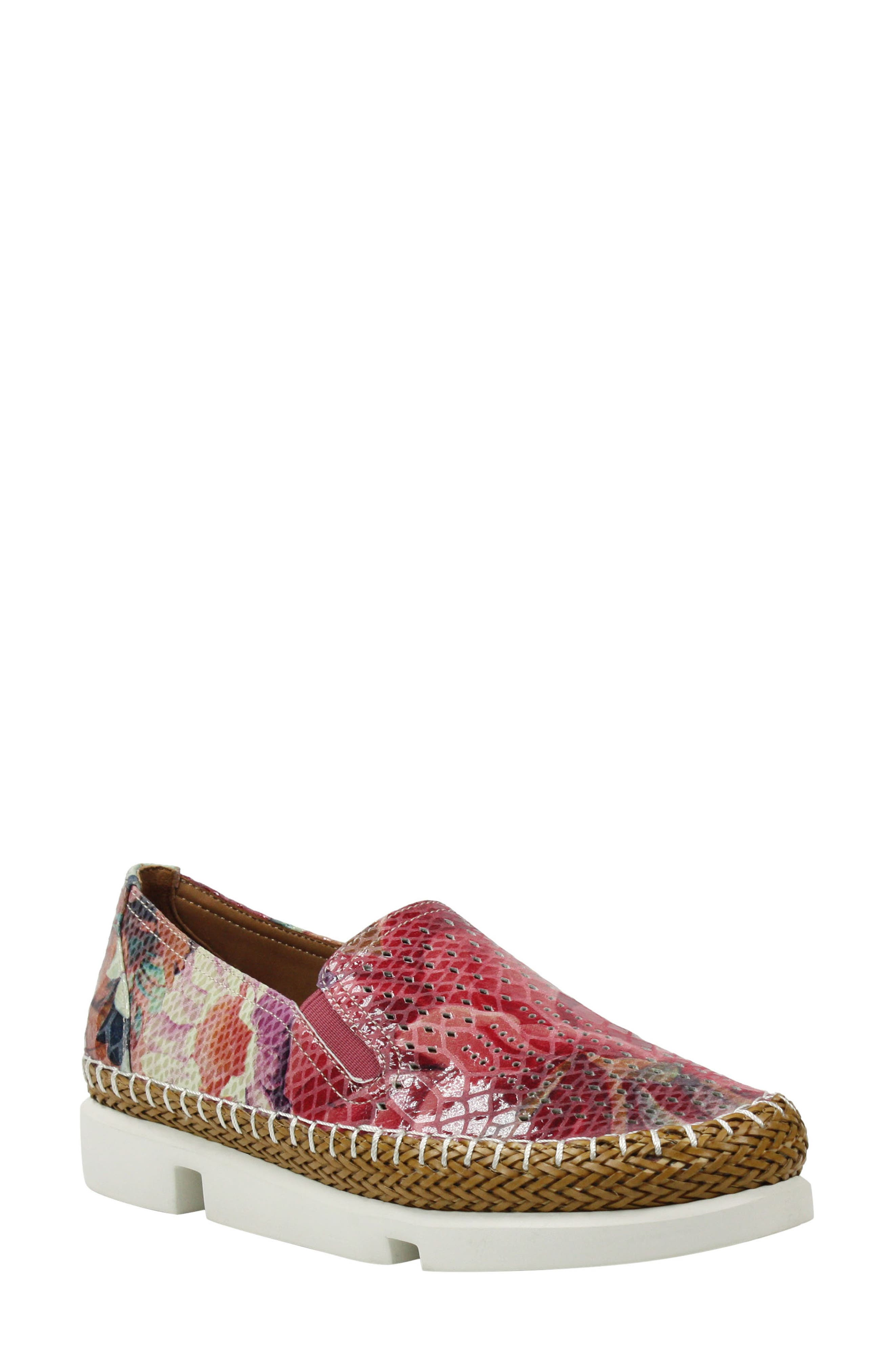 Image of L'Amour Des Pieds Stazzema Snakeskin Texture Loafer