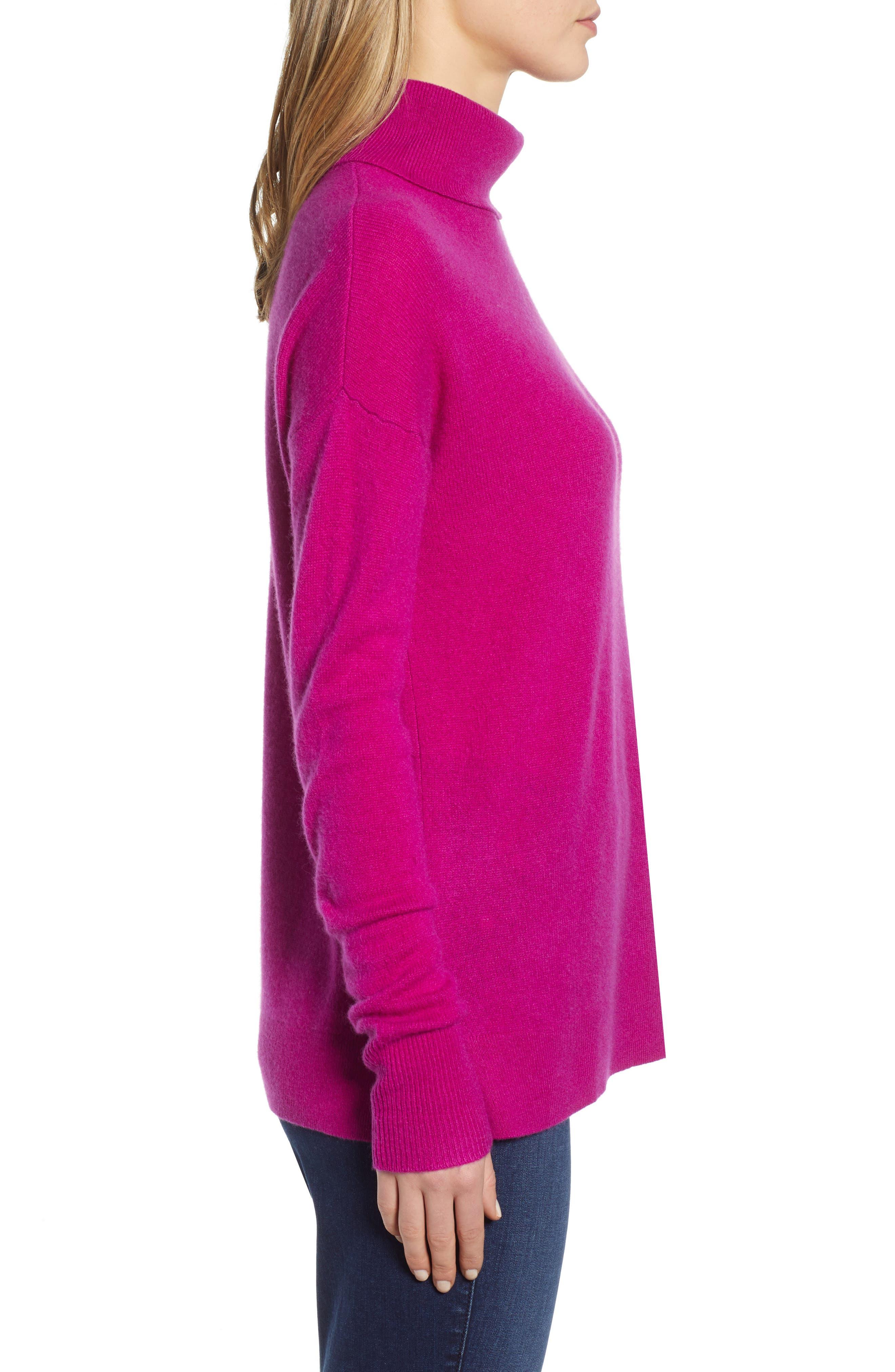 ,                             Cashmere Turtleneck Sweater,                             Alternate thumbnail 45, color,                             651