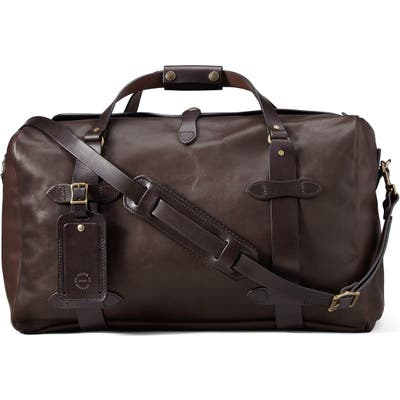 Filson Weatherproof Leather Duffle Bag -