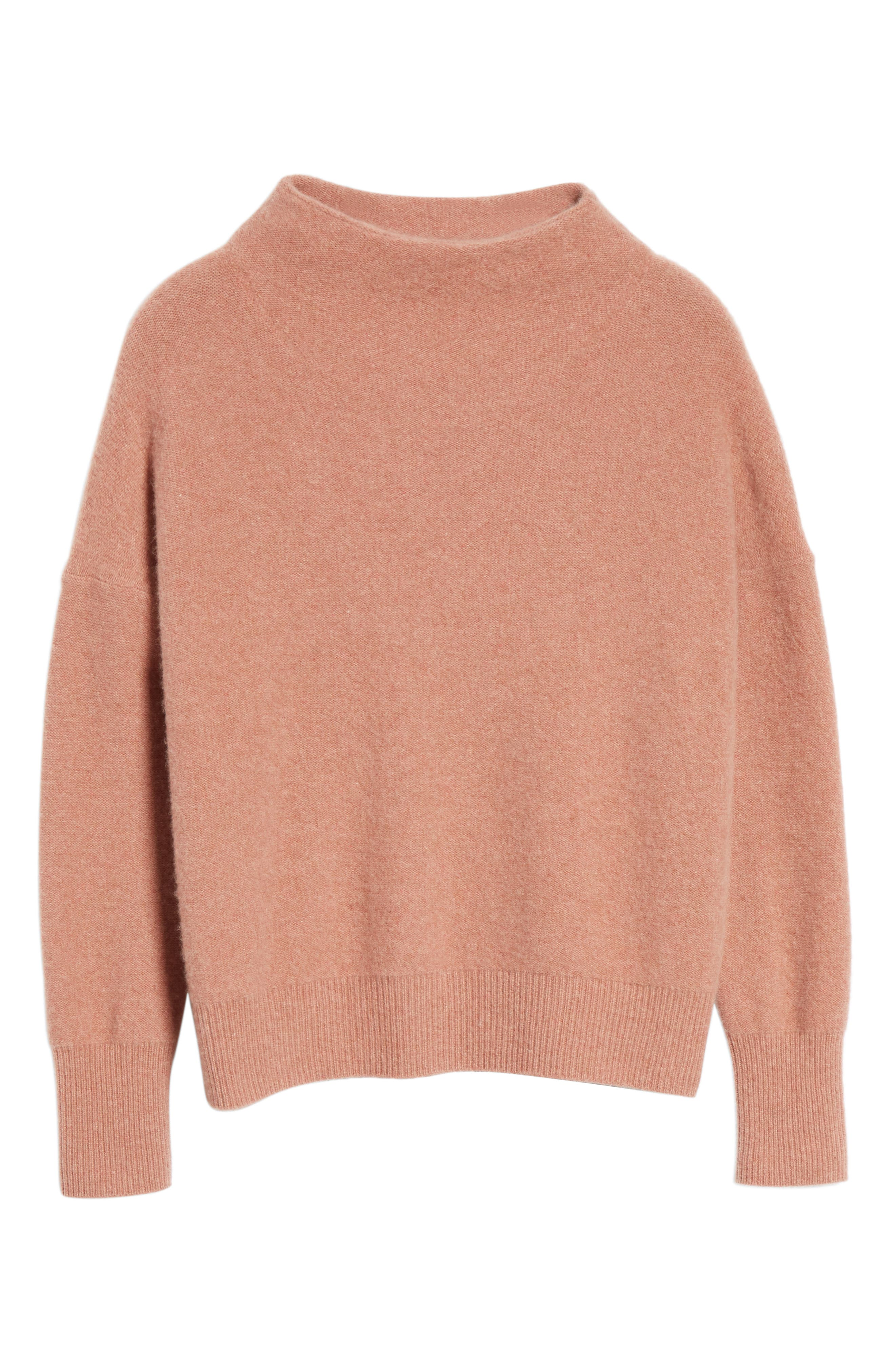 ,                             Funnel Neck Cashmere Sweater,                             Alternate thumbnail 20, color,                             690