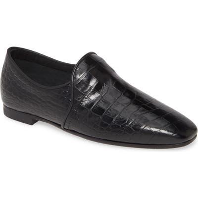 Aquatalia Revy Weatherproof Loafer- Black