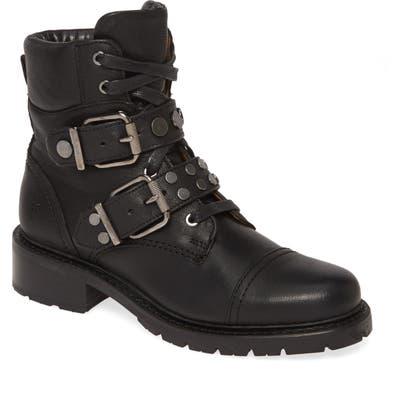 Frye Samantha Studded Hiker Boot- Black