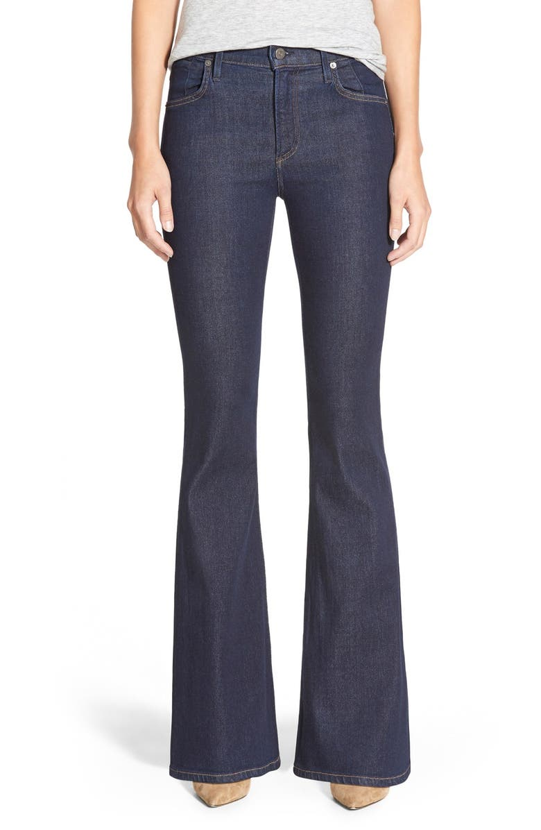 CITIZENS OF HUMANITY 'Fleetwood' High Rise Flare Jeans, Main, color, 410