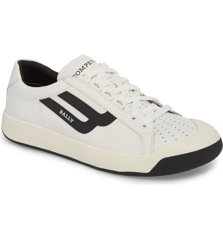 BALLY New Competition Sneaker, Main, color, WHITE