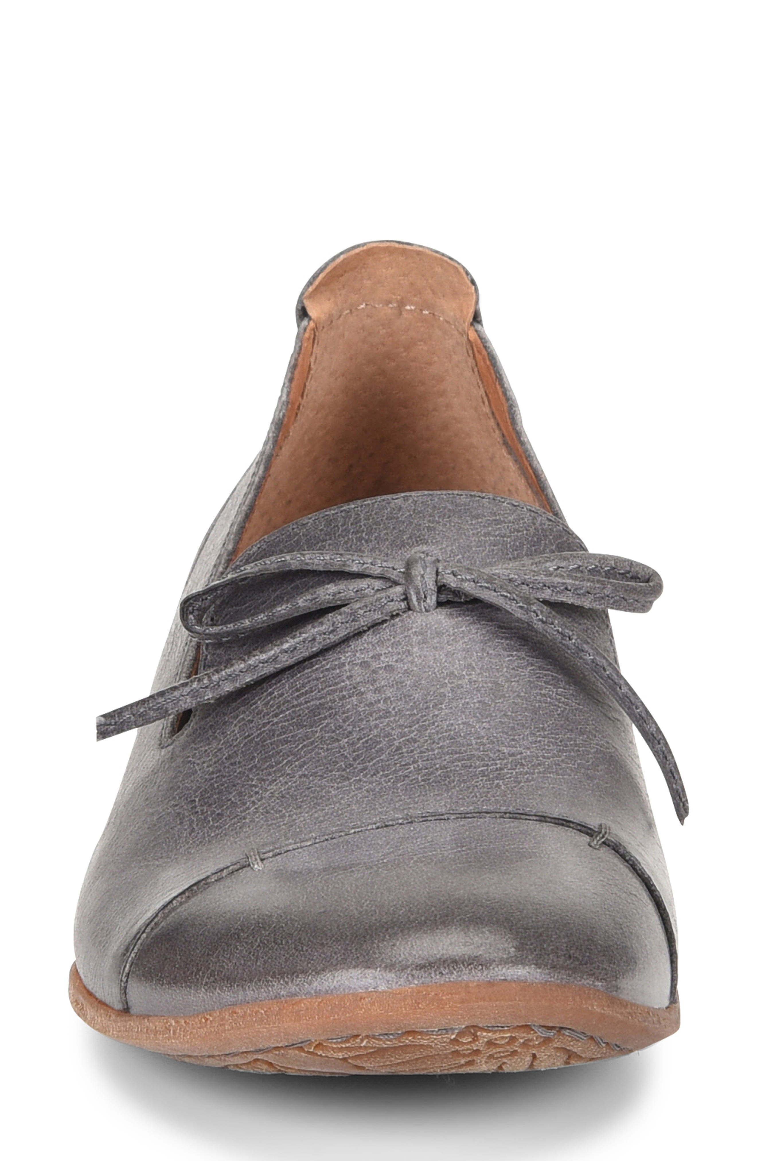 ,                             Gallatin Loafer,                             Alternate thumbnail 4, color,                             GREY LEATHER