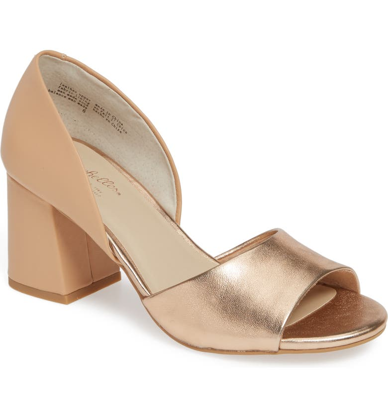 SEYCHELLES Shabby Chic Sandal, Main, color, ROSE GOLD/ NUDE LEATHER
