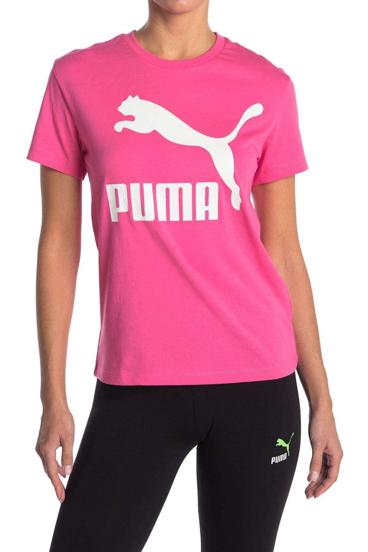 Image of PUMA Classics Logo Tee