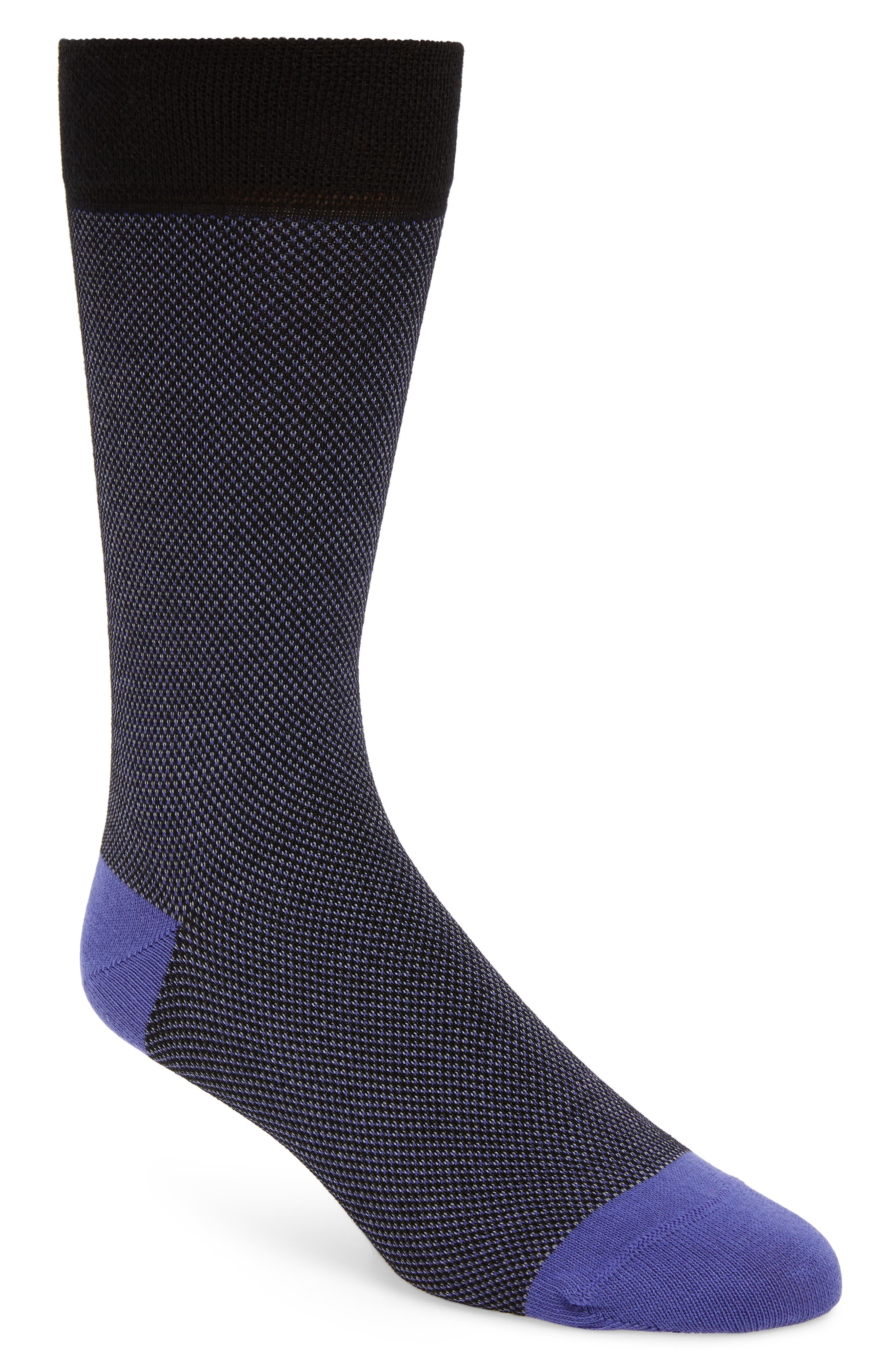 Joaquin Socks, Main, color, BLACK