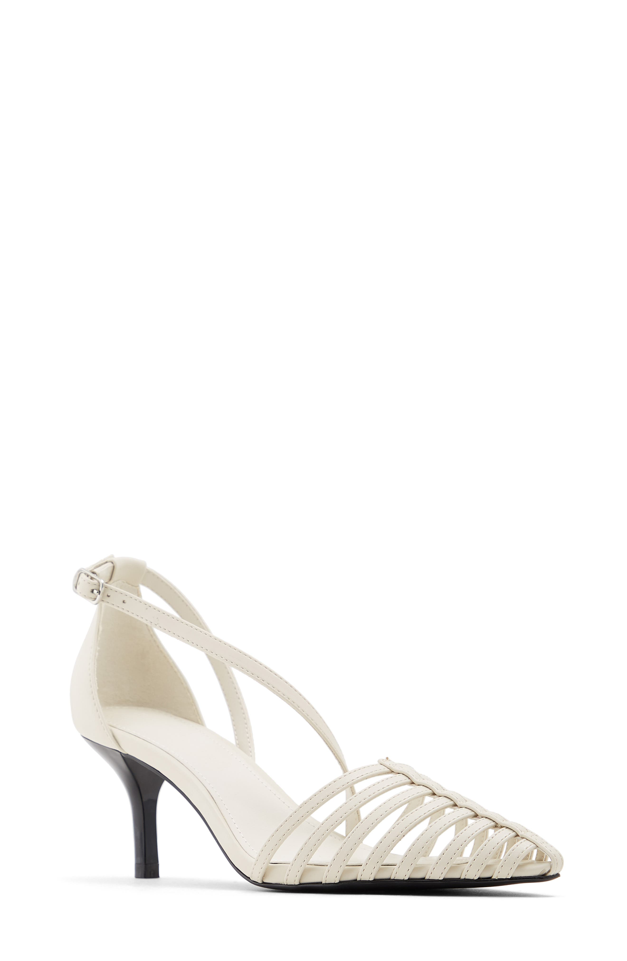 Image of WHO WHAT WEAR Kennedy Strappy Pump