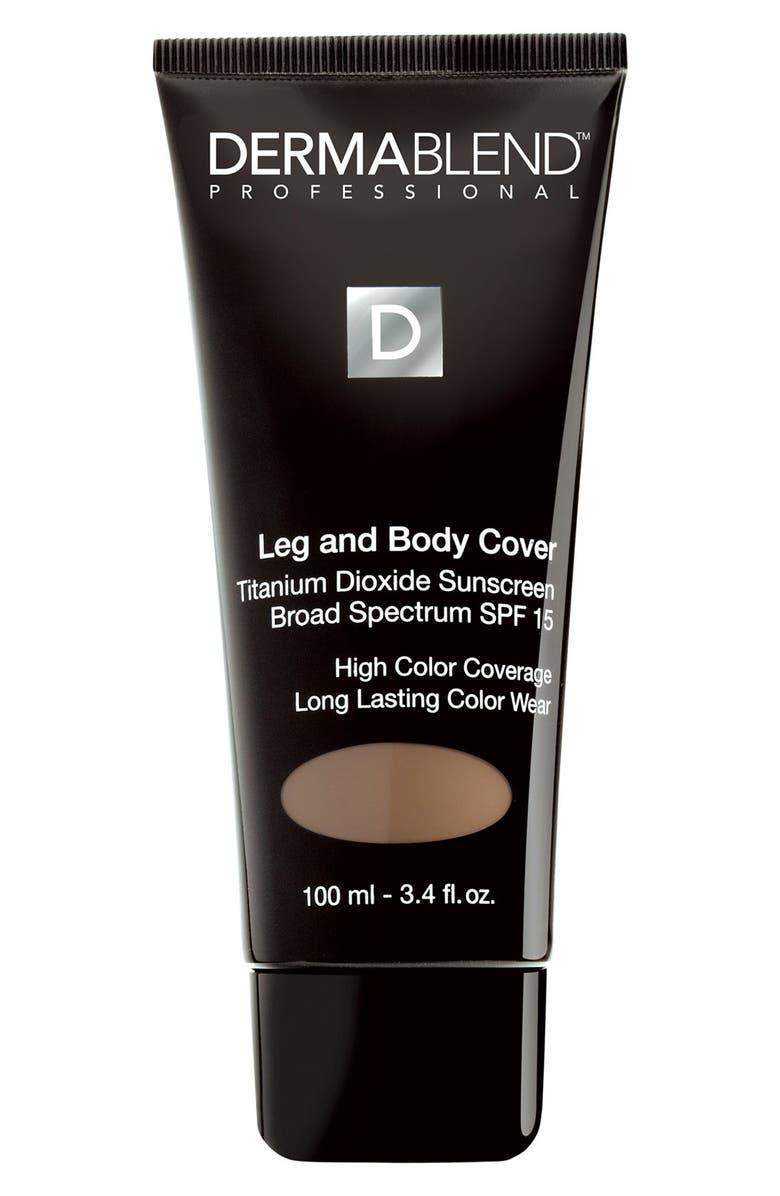 DERMABLEND Leg & Body Cover SPF 15, Main, color, 201