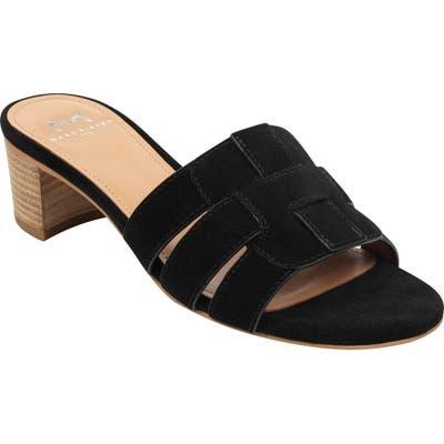 Marc Fisher Ltd Debora Slide Sandal, Black